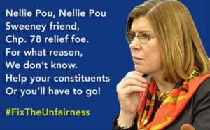#FixTheUnfairness Nellie Pou!