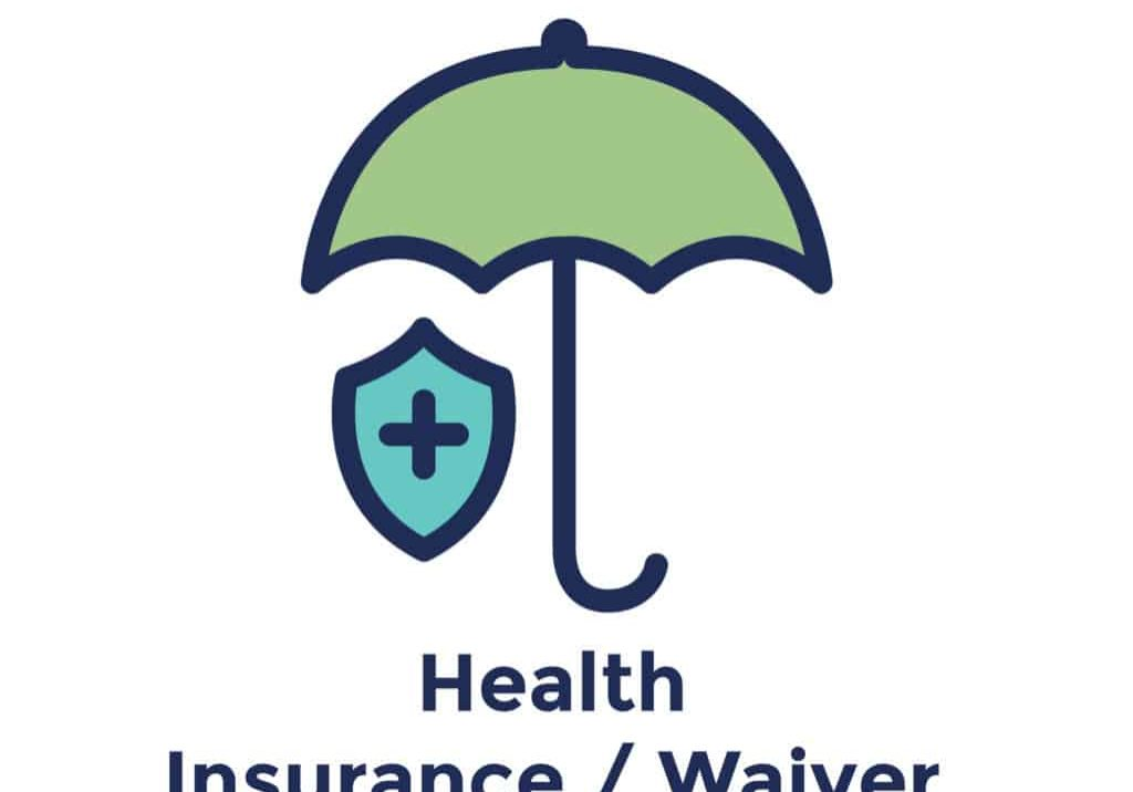 New Hire or new employee icon focusing - health insurance / waiver
